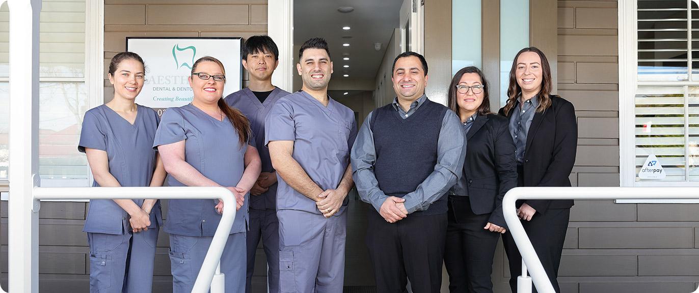 Aesthetic Dental and Denture Team Image
