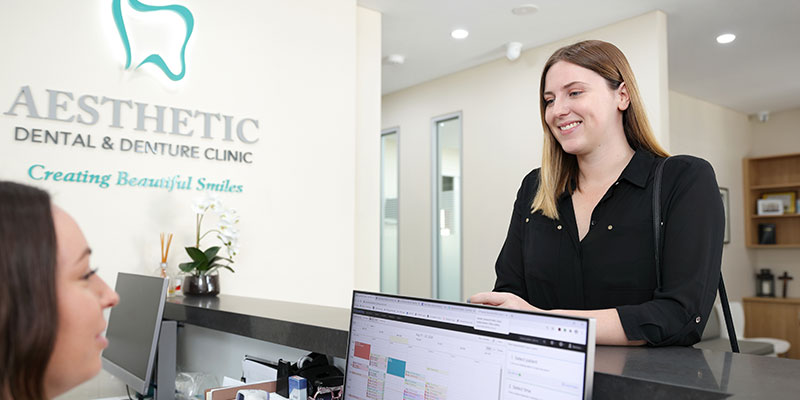 Aesthetic Dental and Denture Clinic - Customer Service