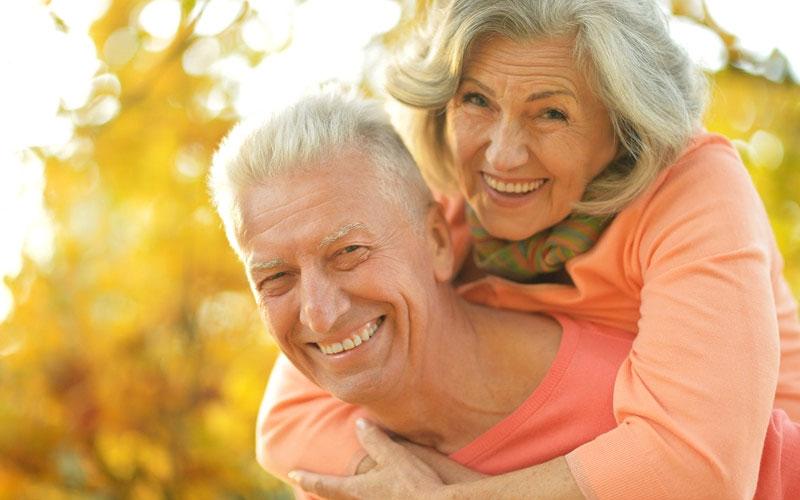elderly-smiling - Aesthetic Dental and Denture Clinic