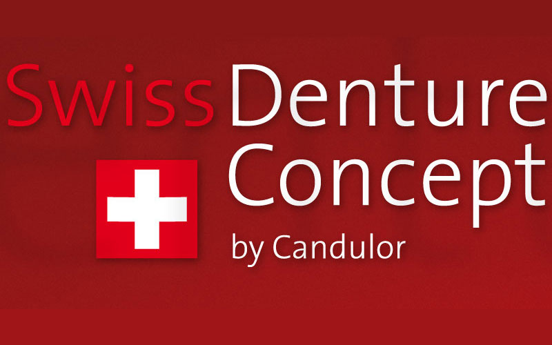 Swiss Denture Concept logo at Aesthetic Dental and Denture Clinic